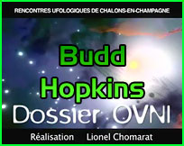 Documentaire ovni châlons en champagne Budd Hopkins