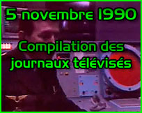 Documentaire ovni Vague d'OVNIs du 5 novembre 1990 - compilation JT