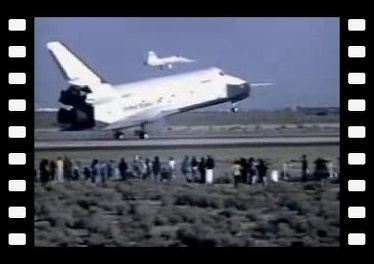 Space Shuttle Approach And Land