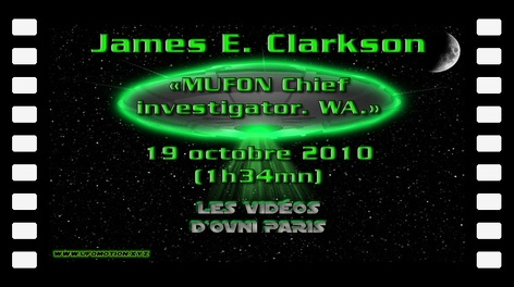 James E. Clarkson - MUFON chief investigator