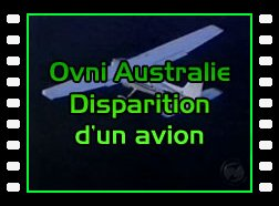 Ovni Australie Disparition d'un avion